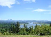 Vue de la route de montagne images libres de droits