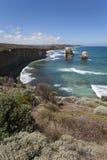 Vue de la route grande d'océan Image libre de droits