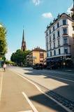 Vue de la rue de Francfort Image libre de droits