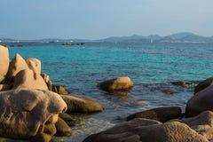 Vue de la Sardaigne Photo libre de droits