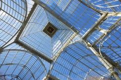 Palacio de Cristal images stock