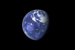 Vue de la terre image libre de droits