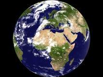 Vue de la terre - général Image libre de droits