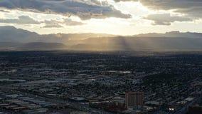 Vue de la tour de stratosphère à Las Vegas, Nevada Photographie stock libre de droits