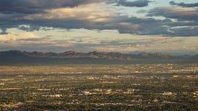 Vue de la tour de stratosphère à Las Vegas, Nevada Images stock