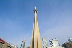 Vue de la tour nationale canadienne de NC de tour à Toronto Image libre de droits