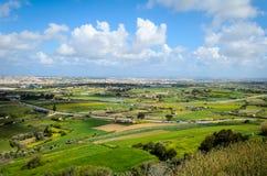 Vue de La Valette de la Médina, Malte photographie stock libre de droits