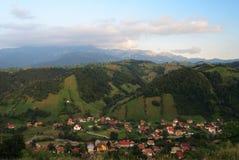 Vue de la vallée Photo libre de droits