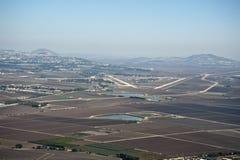 Vue de la vallée de Jezreel l'israel Image libre de droits