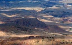 Vue de la vallée de montagne Images libres de droits