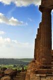 Vue de la vallée des temples Images stock