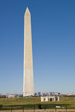 Vue de la verticale de monument de Washington Photo stock