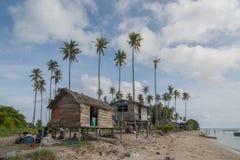 Vue de la vie marine à l'île de Sempornas Photographie stock libre de droits