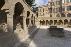 Vue de la vieille ville de Bakou, capitale de l'Azerbaïdjan images stock