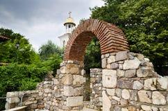 Vue de la vieille ville de Sozopol Photo libre de droits