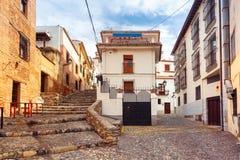 Vue de la vieille ville, Grenade, Andalousie, Espagne Photo stock