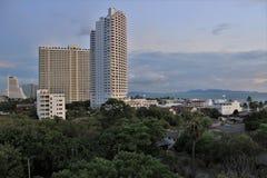 Vue de la ville Image libre de droits