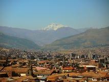 Vue de la ville de Cusco, Pérou photo stock