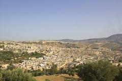 Vue de la ville de Fez Photographie stock