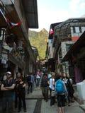 Vue de la ville de Machu Picchu, Pérou photo libre de droits