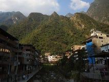 Vue de la ville de Machu Picchu, Pérou image libre de droits
