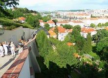 Vue de la ville de Prague Photos libres de droits