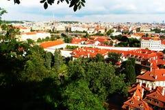 Vue de la ville de Prague Images libres de droits