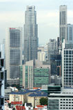 Vue de la ville de Singapour du Skybridge Image stock