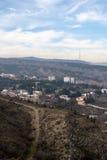 Vue de la ville de Tbilisi Tbilisi Photographie stock libre de droits