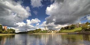 Vue de la ville de Vitebsk Image stock