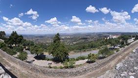 Vue de la ville du marvao, Portugal photos libres de droits