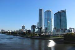 Vue de la ville du pont photo libre de droits