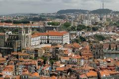 Vue de la ville historique de Porto, Portugal Photo stock