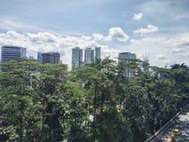 Vue de la ville moderne, Kuala Lumpur photo stock