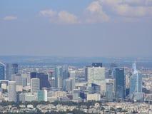 Vue de la ville de Paris de la taille de Tour Eiffel photo libre de droits