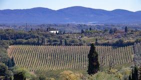 Vue de la ville de San Gimignano photo stock
