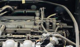 Vue de la voiture de moteur photo libre de droits