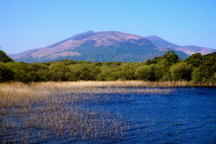 Vue de lac photos stock