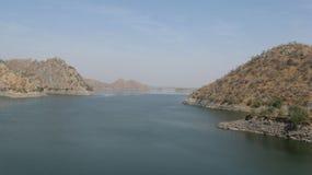 Vue de lac Photos libres de droits
