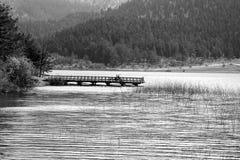 Vue de lac Abant Images libres de droits
