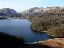 Vue de lac au secteur de lac, Cumbria, Angleterre R-U Image stock