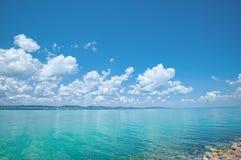 Vue de lac Balaton, Hongrie image libre de droits