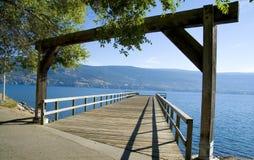 Vue de lac du pilier image libre de droits
