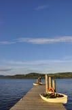 Vue de lac en Ecosse Photo stock