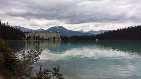 Vue de lac gentille Images libres de droits