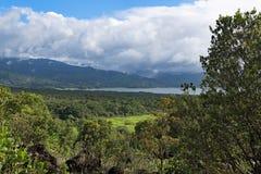 Vue de lac Monteverdi d'Arenal en La Fortuna, Costa Rica photos stock