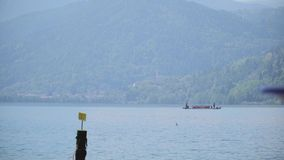 Vue de lac mountain clips vidéos
