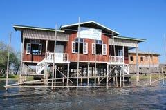 Vue de lac myanmar Inle Photographie stock