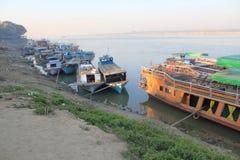 Vue de lac myanmar Inle Photos stock