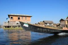 Vue de lac myanmar Inle Photo stock